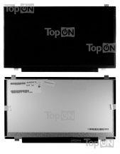 """LCD Матрица (экран, дисплей) для ноутбука 14.0"""", WXGA++ HD+ 1600x900, светодиодная (LED), уши верх-низ, совместима c B140RW02 LP140W"""