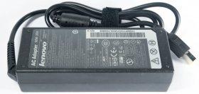 Блок питания (зарядное устройство, сетевой адаптер) для ноутбука Lenovo Yoga (прямоугольный с иглой) 20V 4.5A