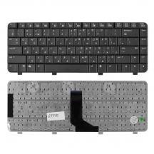 TopON TOP-69770 Клавиатура для ноутбука HP Pavilion DV2000, Compaq Presario V3000 Series. Плоский Enter. Черная без рамки.  NSK-H520R, 9J.N8682.20R.