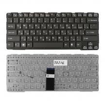 TopON TOP-77216 Клавиатура для ноутбука Sony Vaio SVE14A Series. Плоский Enter. Черная, без рамки.  9Z.N6BBF.D0R, NSK-SDDBF 0R.