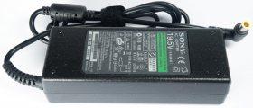 Блок питания (зарядное устройство, сетевой адаптер) для ноутбука Sony Vaio (6.5x4.4 с иглой) 19.5V 4.7А