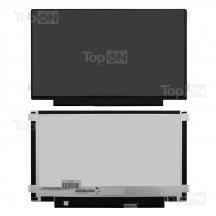 """LCD Матрица (экран, дисплей) для ноутбука 11.6"""", WXGA HD 1366x768, светодиодная (LED), уши право-лево, матовая, 30 Pin, совместима c N116BGE-EA2 N116BGE-EB2 B116XTN01.0"""
